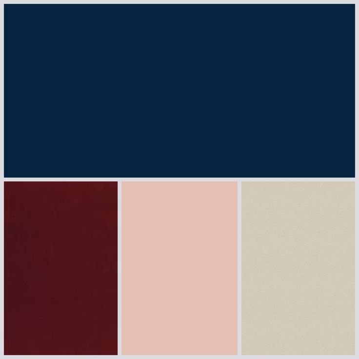 Navy wedding palette champagne burgundy blush                                                                                                                                                                                 More