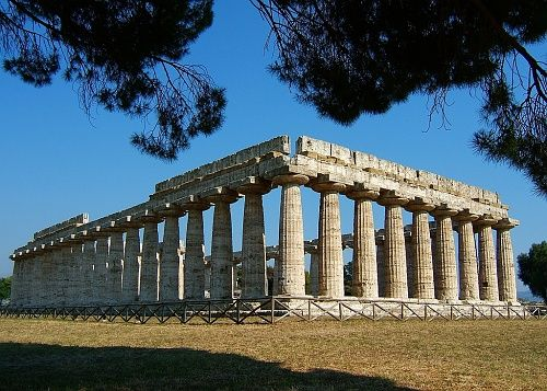 Temple of Hera, Olympia, Greece. I finally got to see Hera's temple!!!