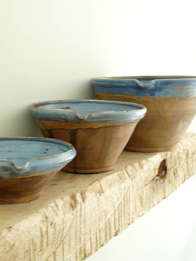 French Clay Bowls | Not On The High Street