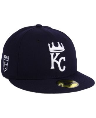 New Era Kansas City Royals De Customs 59FIFTY Cap - Blue 7 3/8