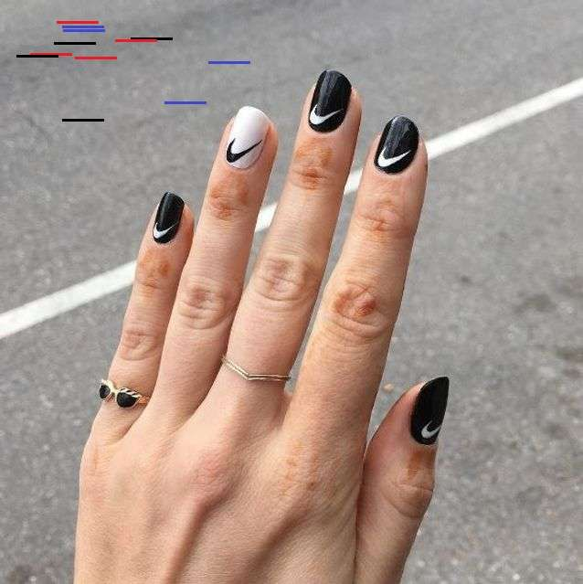 65 Awe Inspiring Nail Art Designs For Short Nails In 2020 Nike