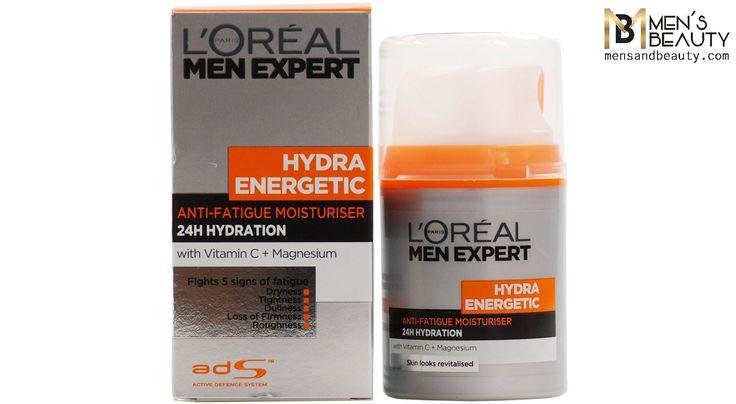 mejor crema hidratante hombre hydra energetic moisturiser loreal men expert
