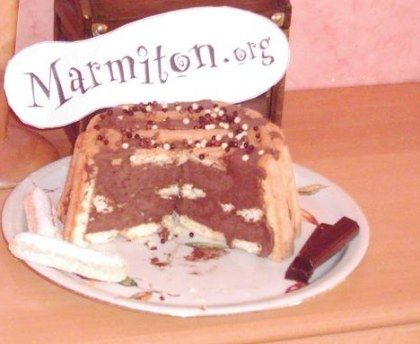 Charlotte au chocolat façon grand-maman : Recette de Charlotte au chocolat façon grand-maman - Marmiton