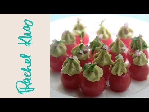 ▶ Rachel Khoo's Tomato guacamole - YouTube