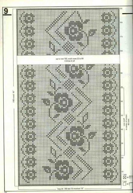 Kira scheme crochet: Scheme crochet no. 1594