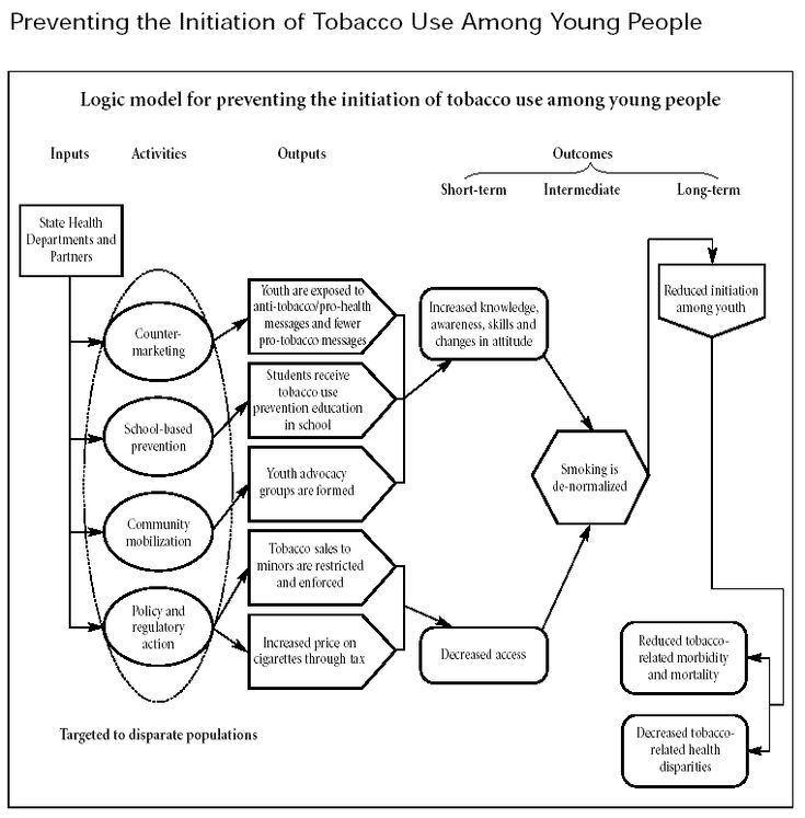 Chapter 2. Other Models for Promoting Community Health and Development | Section 1. Developing a Logic Model or Theory of Change | Examples | Community Tool Box