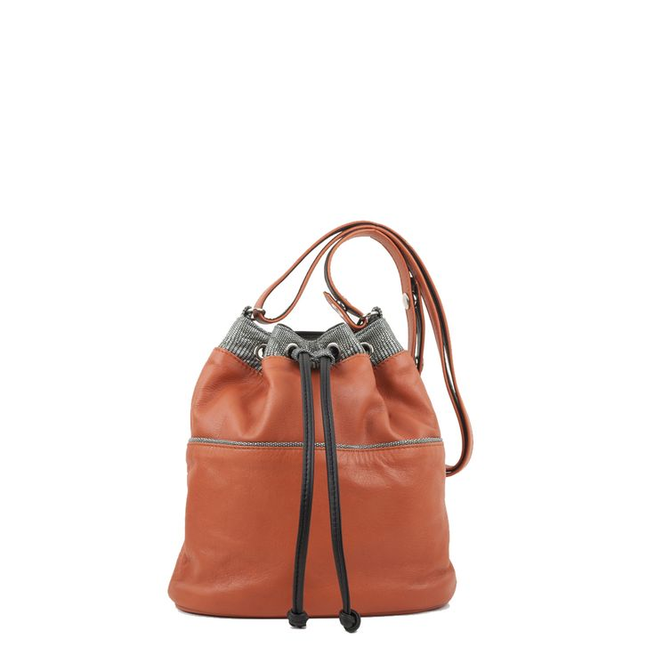 Nancy across body leather bag