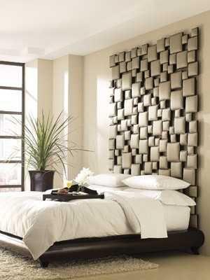 cabeceras de cama modernas tapizadas - Buscar con Google