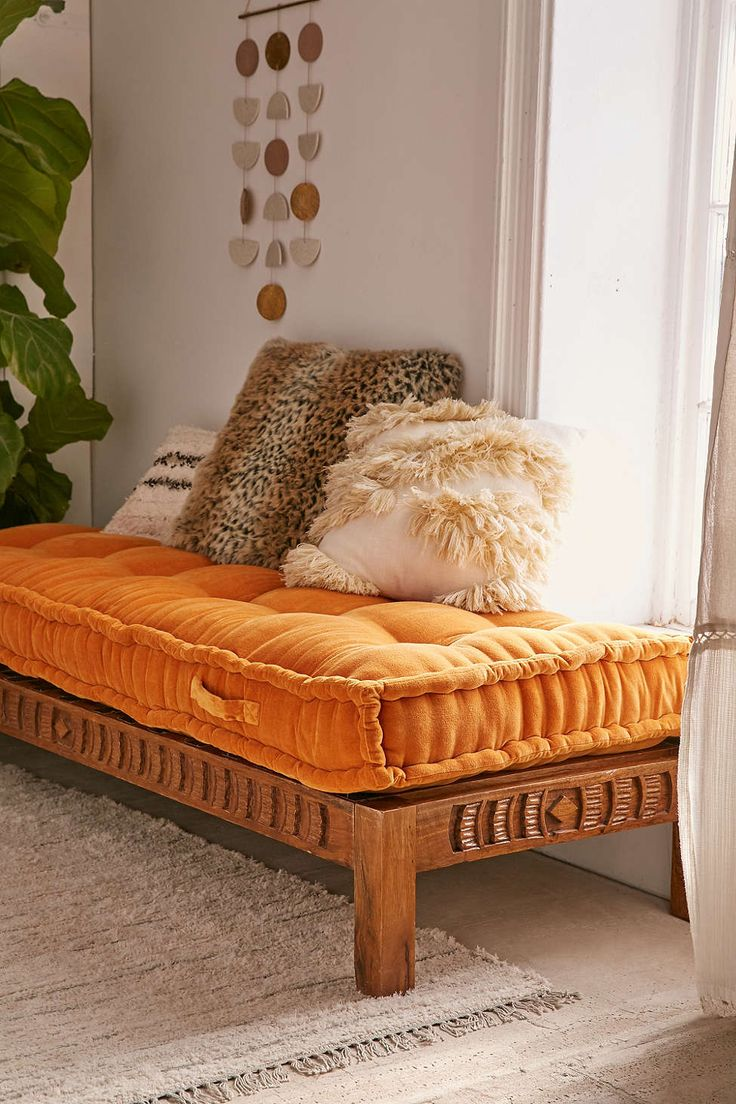 Daybed sofa ideas - Rohini Velvet Daybed Cushion
