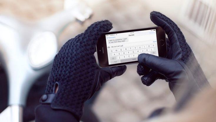 Edle Touchscreen Handschuhe