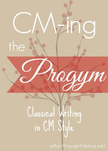 Afterthoughts: CM-ing the Progym:Teaching the Fable Stage