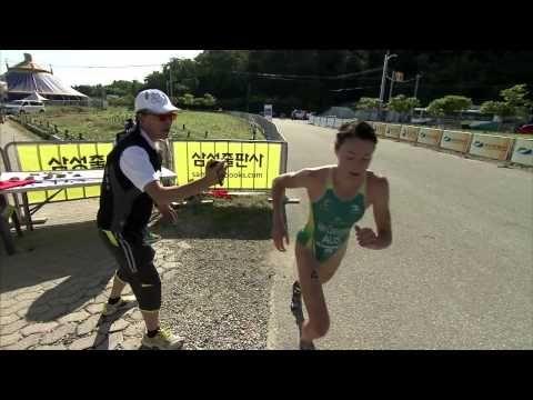 2013 Tongyeong ITU Triathlon World Cup Series - Elite Women