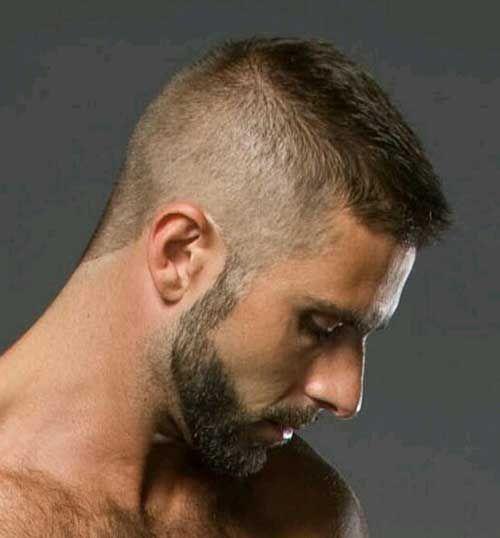 Very short hair cuts men