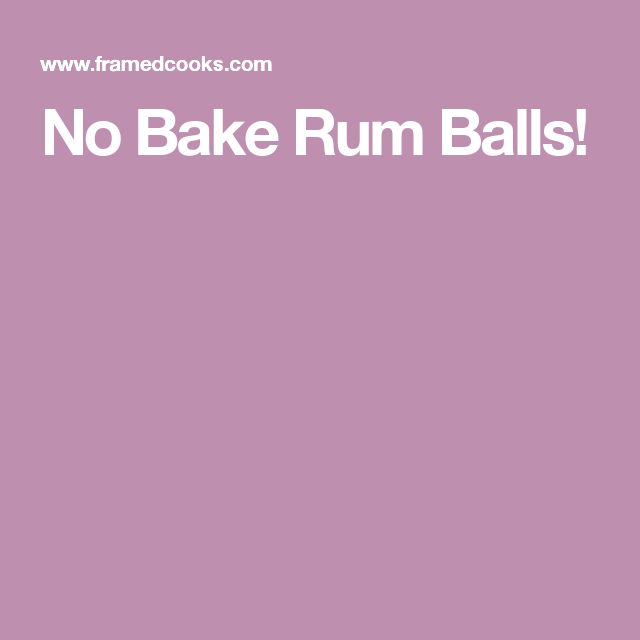 10 Best ideas about Rum Balls on Pinterest | Martha ...