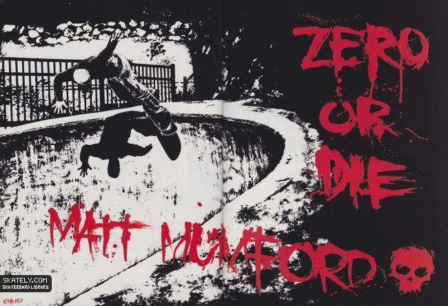 Zero Skateboards - Zero or Die Ad (2004)
