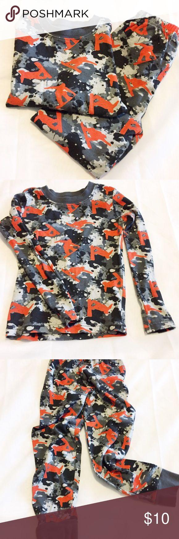 Selling this Crazy 8 | Boys' Snowboarding Pajama Set | Size 5 on Poshmark! My username is: xoshersherxo. #shopmycloset #poshmark #fashion #shopping #style #forsale #Crazy 8 #Other