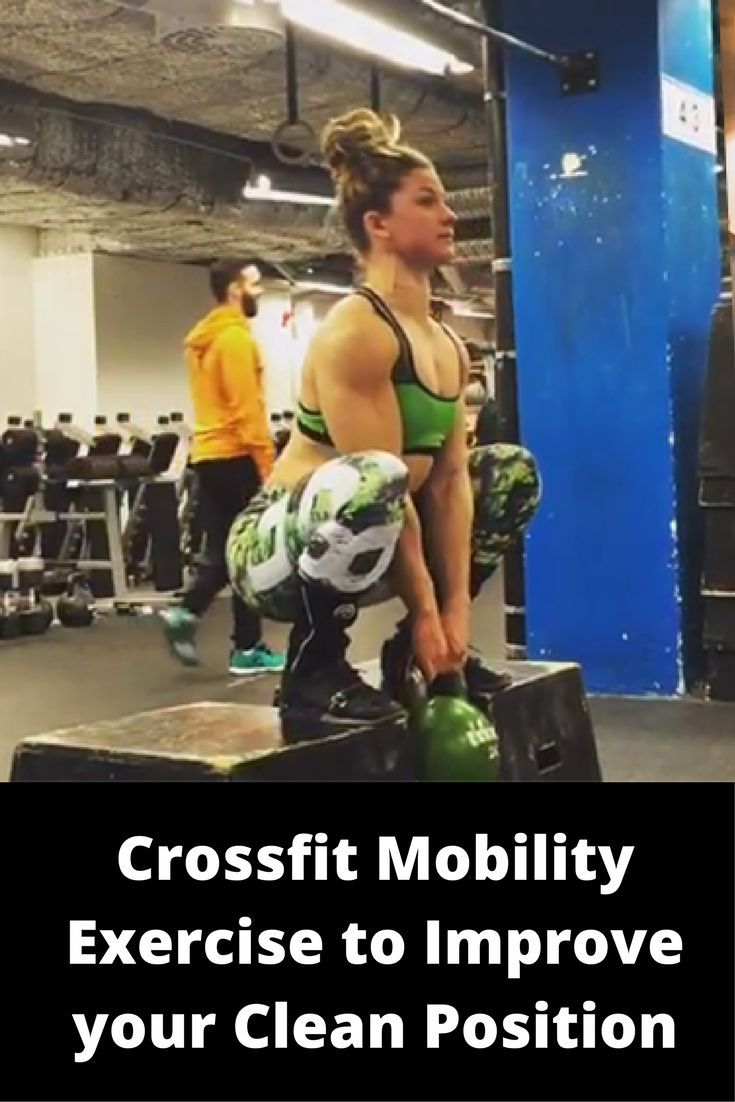 Crossfit Mobility Exercise to Improve your Clean Position