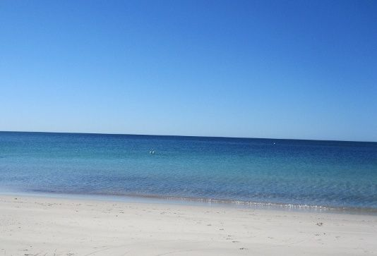 The beautiful beach on our doorstep - Busselton