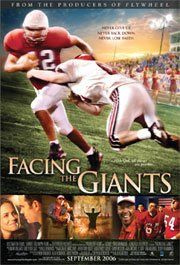Facing the Giants (2006) - A losing coach with an underdog football team faces their giants of fear and failure on and off the field to surprising results.