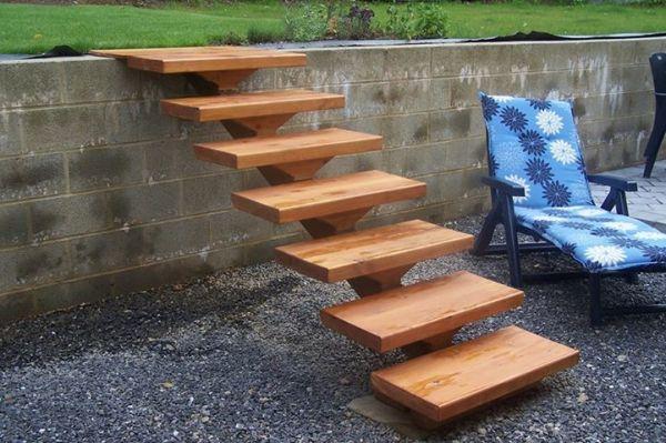 17 Meilleures Id Es Propos De Escalier Exterieur Bois Sur Pinterest Marches Ext Rieur
