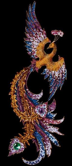 A symbol of rebirth, the phoenix represents beauty, power, vision and inspiration. ~Luna Guitars