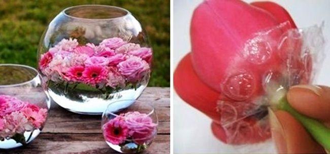 MENTŐÖTLET - kreáció, újrahasznosítás: Virágváza másként