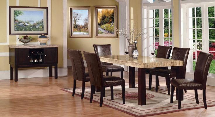 Weiß Hochglanz Esstisch Marmor Braun Küchen Tabelle 42