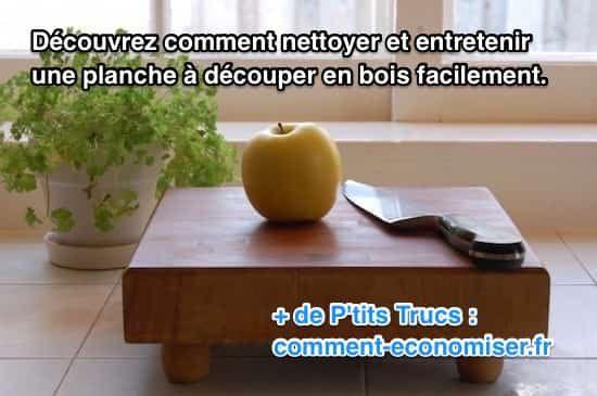 Voici l'astuce pour bien nettoyer une planche à découper en bois, sans utiliser de produits chimiques, ni se ruiner. Regardez :-)  Découvrez l'astuce ici : http://www.comment-economiser.fr/comment-nettoyer-et-entretenir-planche-a-decouper-en-bois.html?utm_content=buffera51c1&utm_medium=social&utm_source=pinterest.com&utm_campaign=buffer