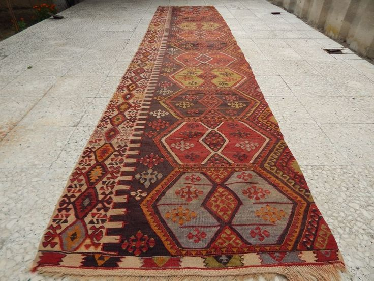 3 0x13 2 Ft Wide Large Runner Vintage Woven Extra Long