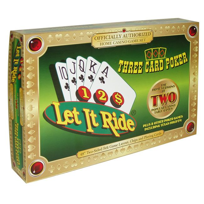 Play Casino Let It Ride Poker - Guides and How To