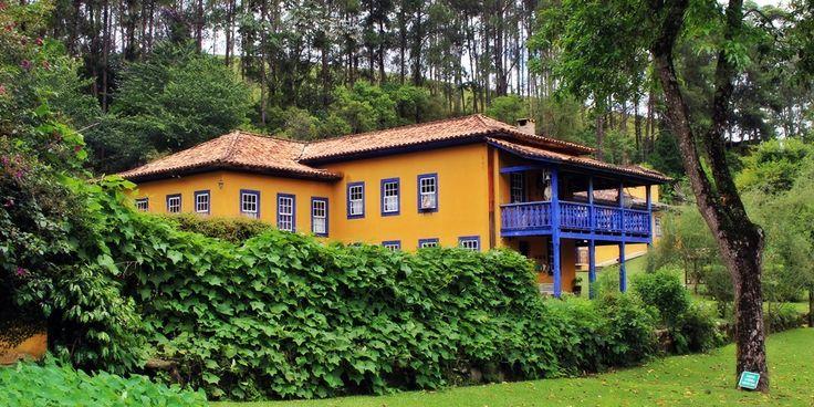 Casa Sede do Hotel Fazenda Santa Marina, em Minas Gerais.
