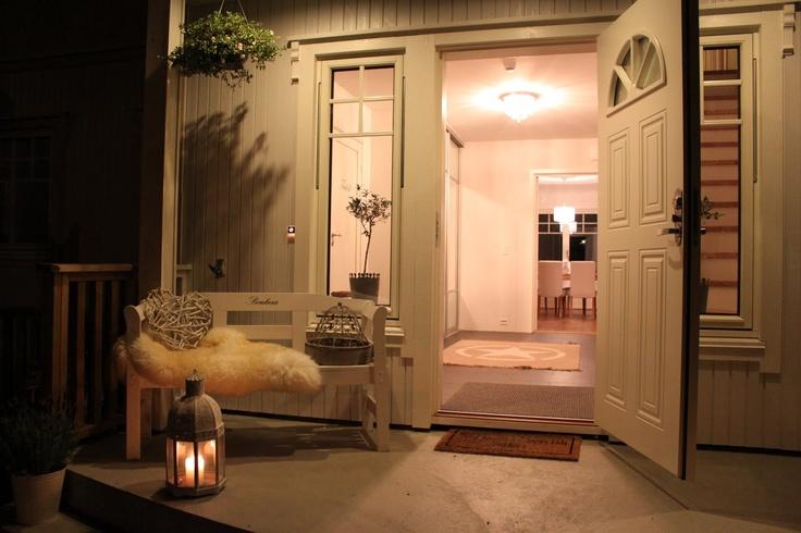 cozy entrance