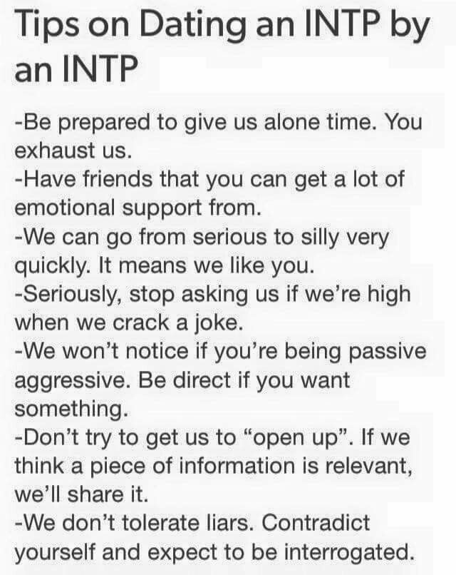 INFJ woman needs advice about INTP man | INFJ Forum - Intp