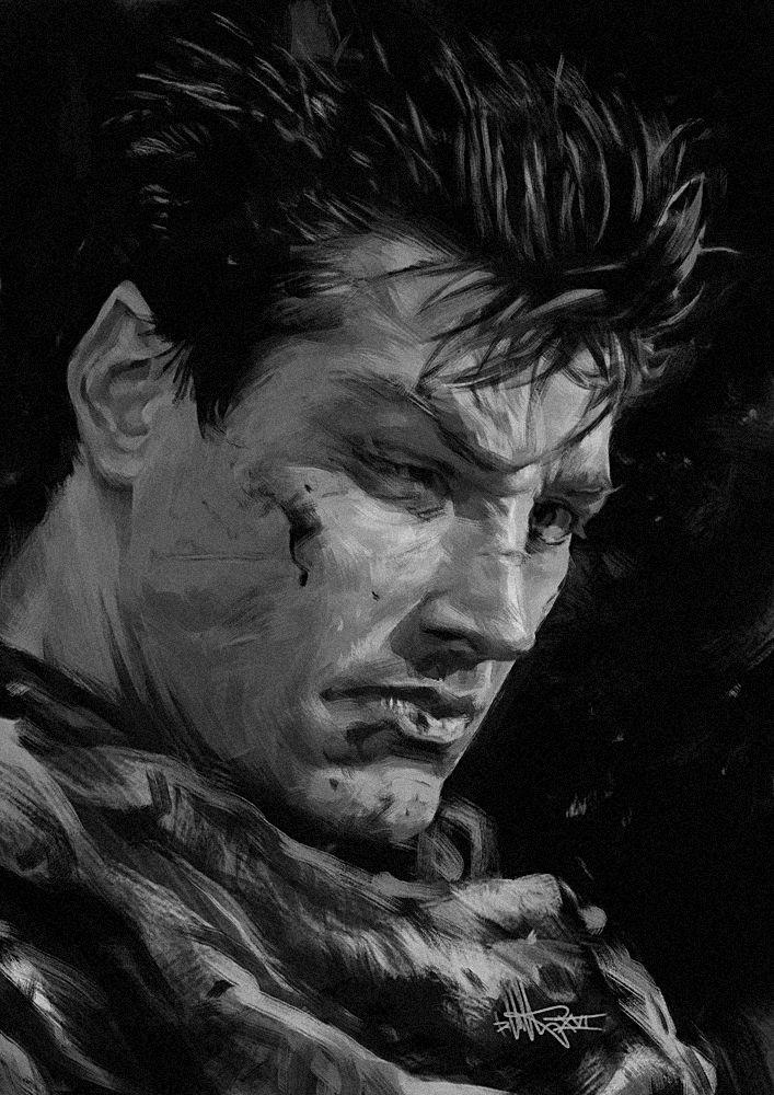 The Black Swordsman by kopfstoff on DeviantArt