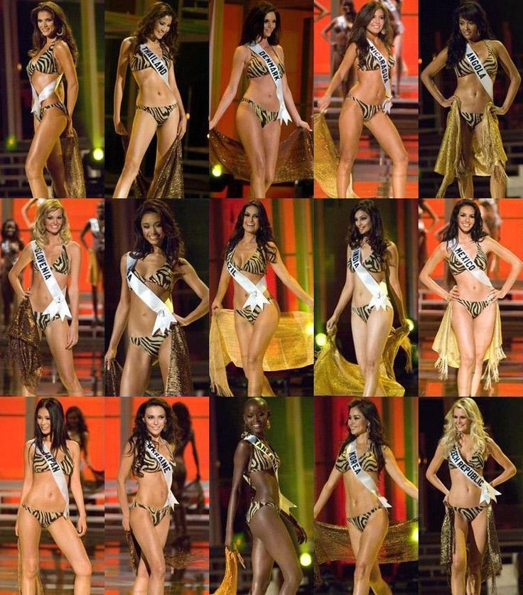 Thoughts of Miss Universe 2007