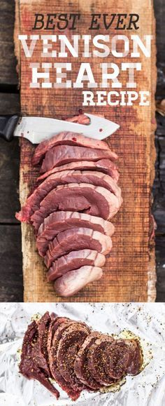 VENISON HEART RECIPE – WHITETAIL DEER. BEST EVER This Whitetail Deer was shot straight through the heart with a muzzleloader. That does not mean that the heart has to go to waste. If you have never tried a deer heart before, please give it a try. It is one of the most tender cuts of meat and we agree that it is a delicacy. What better way to honor the animal than to eat it's heart?
