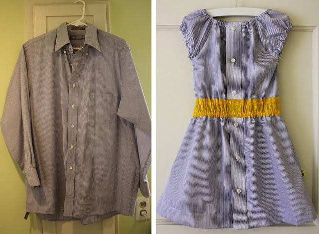 Men's shirt to girl's dressSewing, Dress Shirts, Summer Dresses, Dresses Tutorials, Men Shirts, Dresses Shirts, Old Shirts, Little Girls Dresses, Little Girl Dresses
