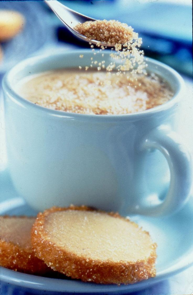 Love using Fairtrade & Organic Turbinado Sugar in coffee cakes, coffee too.