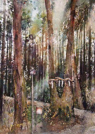 Gabrielle Moulding - Hidden Temple Forest near Soijoji Temple