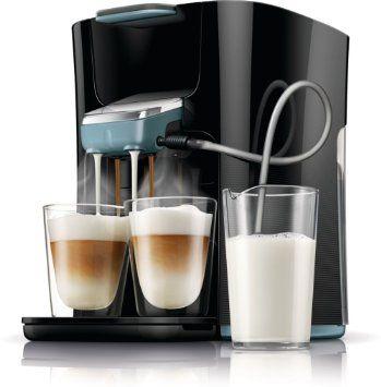 Philips Senseo HD7855/60 Latte Duo-Kaffeepadmaschine, Misty Dawn / schwarz: Amazon.de: Küche & Haushalt