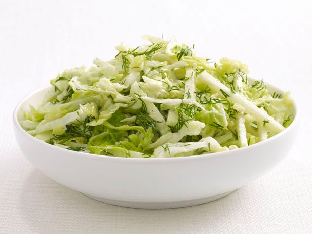 Cabbage-Kohlrabi Slaw from FoodNetwork.com