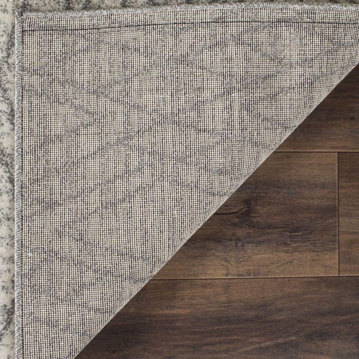 hellgrauer teppich