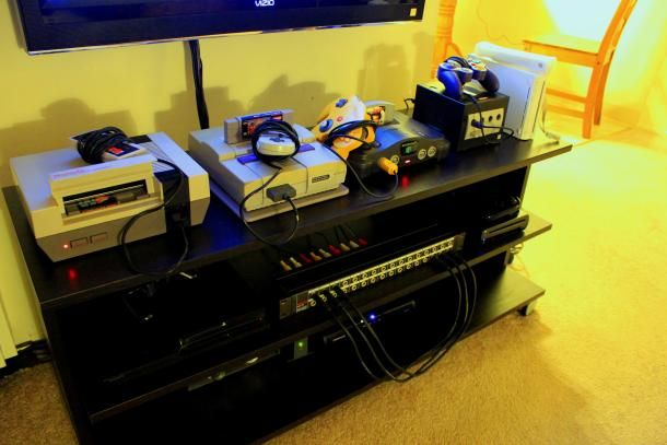 How to make a video game console patch bay