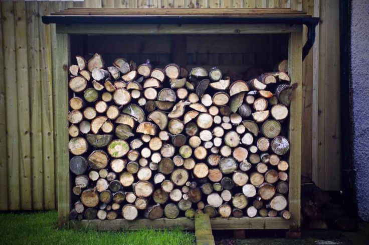 Plenty of firewood for those cosy evenings after a busy day exploring the Forest of Dean