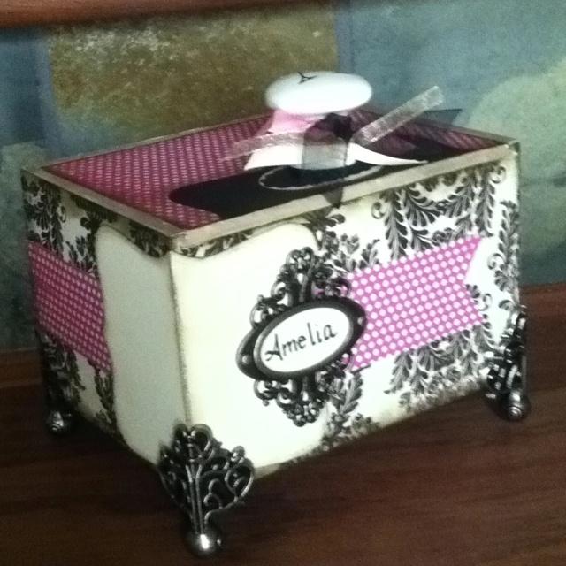 DIY cigar box repurposed
