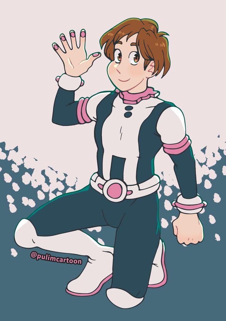 Ochako uraraka male version by pulimcartoon on
