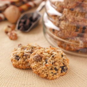 Raisin Oatmeal Cookies Recipe -In my small neighborhood, my grandkids and their friends stop by throughout the day. I keep my cookie jar well supplied with these.