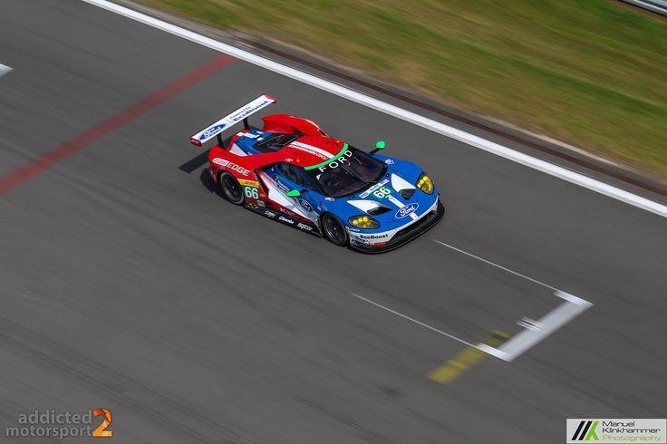 V6-Biturbo kann sich auch ganz gut anhören, wie der Ford GT in seiner Rennversion beweist.