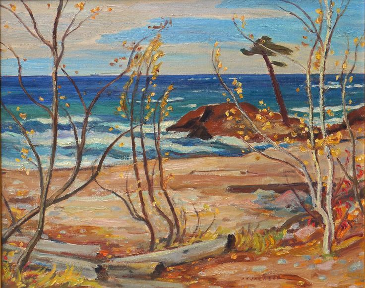 Alexander Young Jackson, 'Shoreline, Georgian Bay' at Mayberry Fine Art