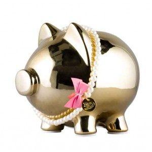 Gouden Moneypig geschenkset (by Little Diva)